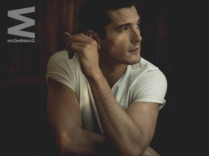Yon Gonzalez at MadMenMag Photoshoot