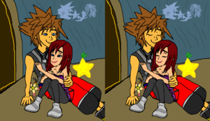 tu and Me friends Together Sora and Kairi Forever. .
