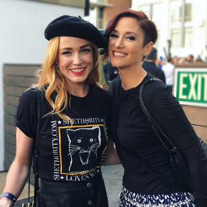 caity lotz and Chyler