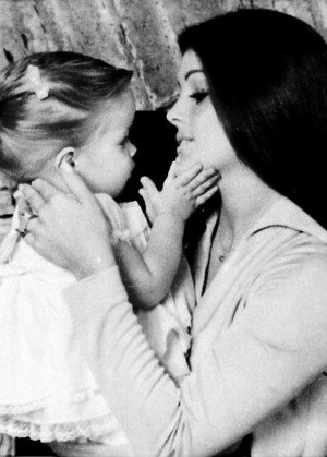 Lisa Marie And Her Mother, Priscilla Presley
