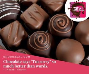 dark chocolates.