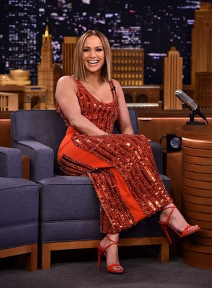Jennifer Lopez at Tonight Zeigen Starring Jimmy Fallon