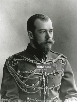 tsar Nicholas II -Nikolai II Aleksandrovich ( 18 May [O.S. 6 May] 1868 – 17 July 1918