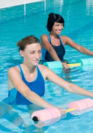 cherl12345 (Tamara) Hintergrund called Water Aerobics With Weights