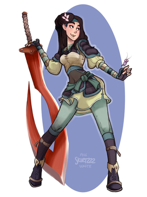 warrior mulan redux by skirtzzz d5k925o