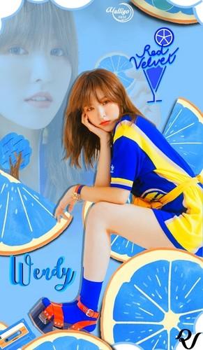 yulliyo8812 Hintergrund titled WENDY #LOCKSCREEN