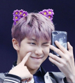 <3 <3 RM in cat ears <3 <3