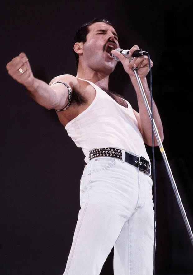 """I won't be a rockstar, I will be a legend"" - Freddie Mercury"