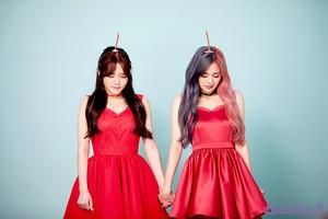 'Love Bomb' MV behind - Jisun & Nagyung