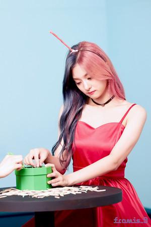 'Love Bomb' MV behind - Nagyung