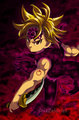 *Meliodas Demon Mode : Nanatsu No Taizai* - anime photo
