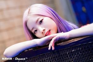 """[NAVER X DISPATCH] TWICE's Dahyun """"YES o YES"""" MV shooting"""