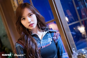 "[NAVER X DISPATCH] TWICE's Mina ""YES au YES"" MV shooting"