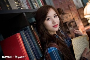 "[NAVER X DISPATCH] TWICE's Mina ""YES or YES"" MV shooting"