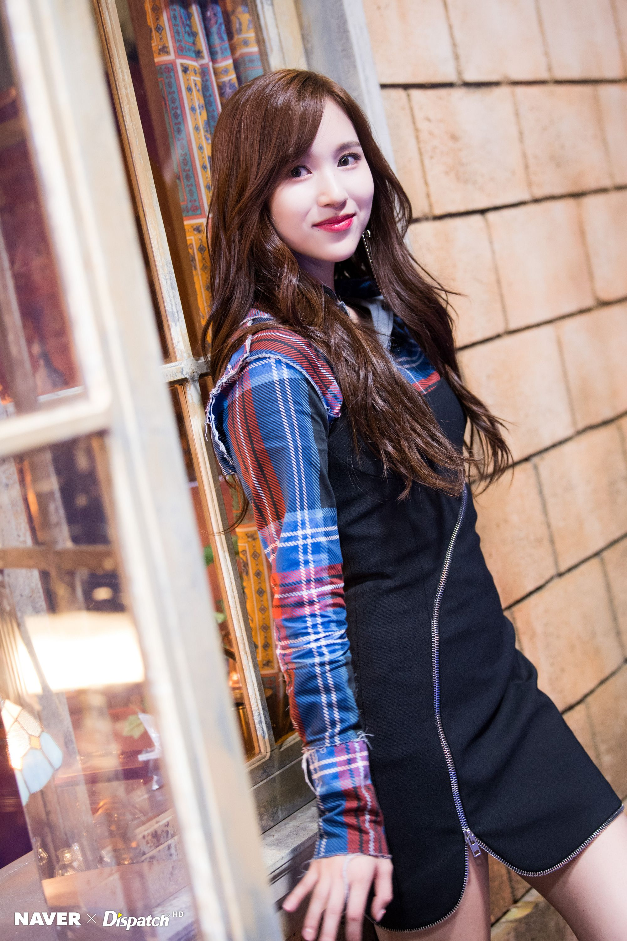 """[NAVER X DISPATCH] TWICE's Mina """"YES or YES"""" MV shooting"""