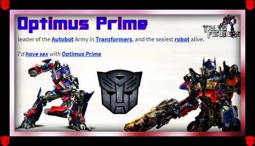 Optimus Prime wallpaper called