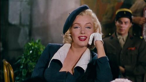 Marilyn Monroe fond d'écran entitled 1953 Film, Gentleman Prefer Blondes