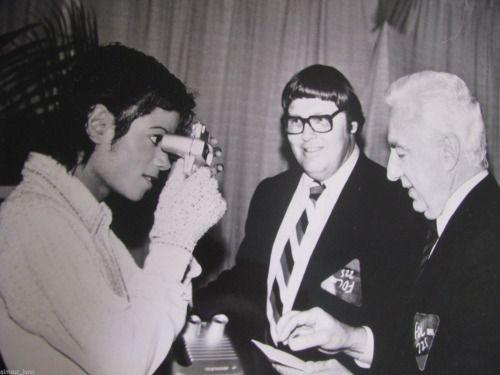 Michael Jackson fond d'écran entitled 1984 Victory Tour Backstage