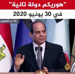 2020 30 NO ELSISI PRO ISRAEL IN EGYPT