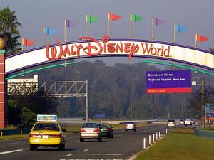 Disneyworld Marquee
