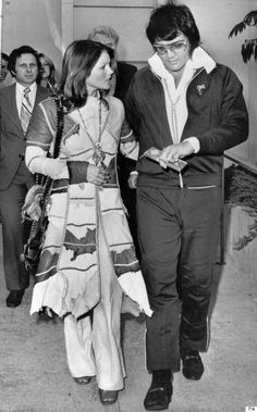 Elvis And Priscilla 1973 Divorce