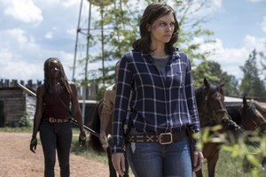 9x01 ~ A New Beginning ~ Maggie and Michonne