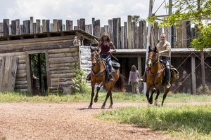 9x01 ~ A New Beginning ~ Michonne and Rick