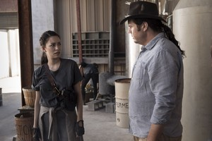 9x01 ~ A New Beginning ~ Rosita and Eugene