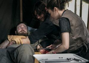 9x02 ~ The Bridge ~ Aaron, Daryl and Enid