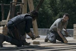 9x02 ~ The Bridge ~ Daryl and Aaron
