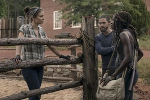 9x02 ~ The Bridge ~ Maggie, Michonne and Jesus