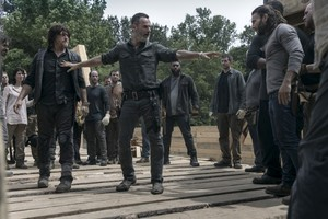 9x02 ~ The Bridge ~ Rick, Daryl and Justin