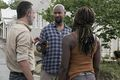 9x03 ~ Warning Signs ~ Scott, Michonne and Rick - the-walking-dead photo