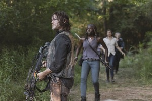9x05 ~ What Comes After ~ Daryl and Michonne