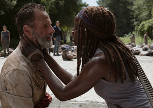 9x05 ~ What Comes After ~ Rick and Michonne