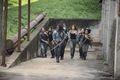 9x07 ~ Stradivarius ~ Michonne, Magna, Connie, Luke, DJ and Siddiq - the-walking-dead photo