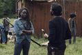 9x07 ~ Stradivarius ~ Michonne and Siddiq - the-walking-dead photo