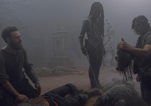 9x08 ~ Evolution ~ Aaron, Michonne and Daryl