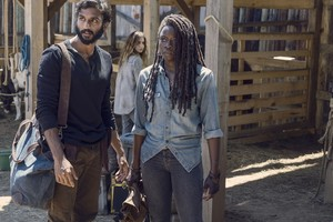 9x08 ~ Evolution ~ Siddiq, Michonne and Magna
