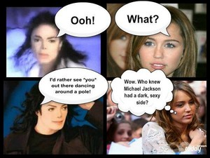 A Chat between Michael and Miley