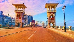 ALEXANDRIA EGYPT MORNING