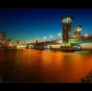 ALEXANDRIA EGYPT NIGHT