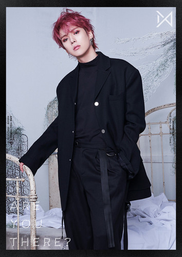 Minhyuk fond d'écran titled ARE toi THERE? Inside photo #1