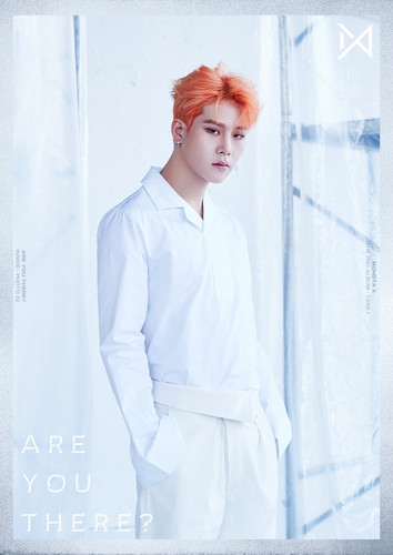 Jooheon wallpaper titled ARE YOU THERE? Inside Photo #2