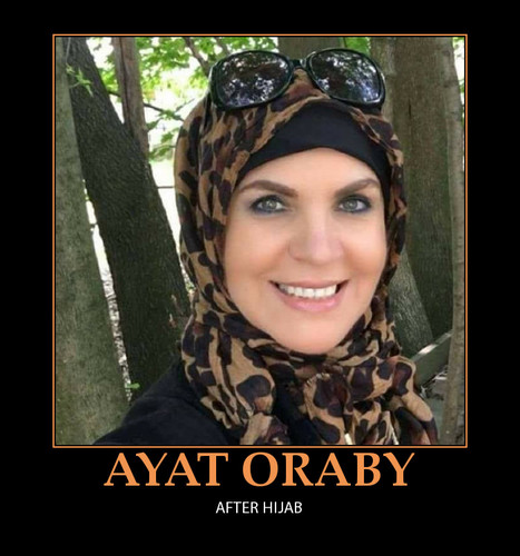 MUSLIMS 壁紙 called AYAT ORABY AFTER HIJAB