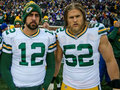 Aaron Rodgers and Clay Matthews