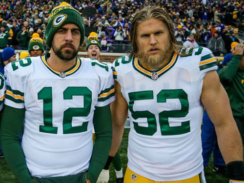Green baía Packers wallpaper called Aaron Rodgers and Clay Matthews