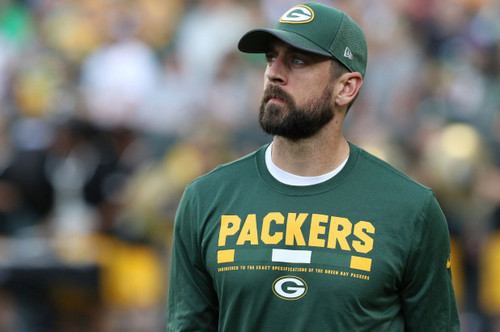 Green baía Packers wallpaper called Aaron Rodgers