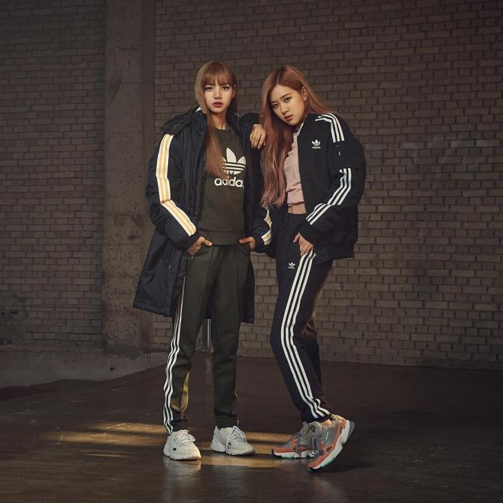 Black Pink Images Adidas Originals Korea Shares Photos Of Blackpink