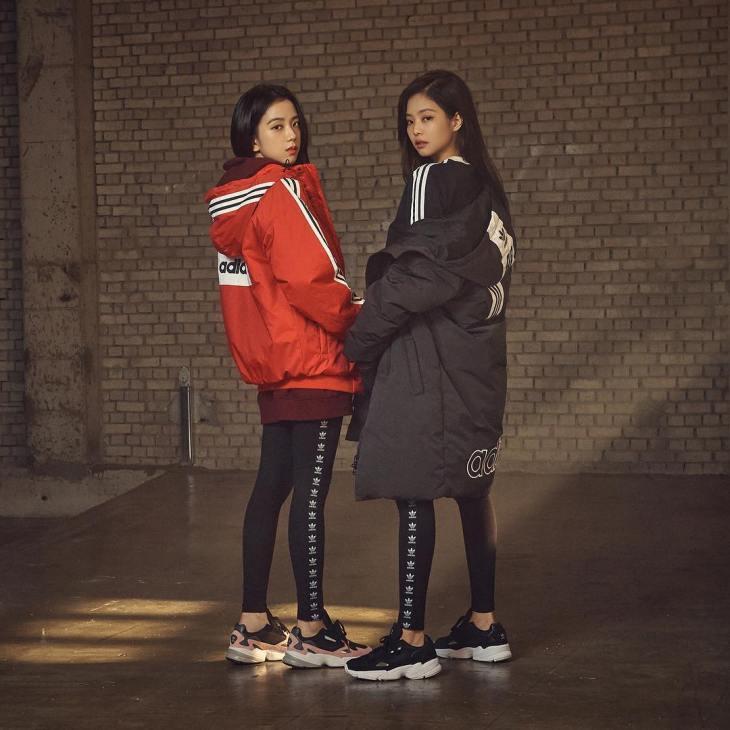 Black Rose Images Adidas Originals Korea Shares Photos Of Blackpink